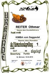 FH 1-Urkunde