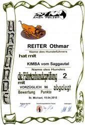 FH 2-Urkunde